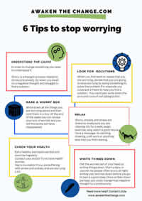 6 Tips to stop worrying
