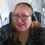 Linda delivering hypnosis online